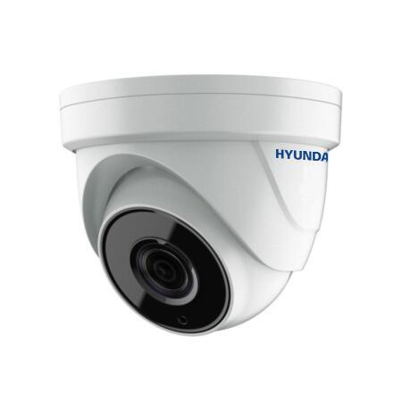 HYU-509 | Dôme fixe HDTVI StarLight avec éclairage Smart IR de 40 m d'extérieur