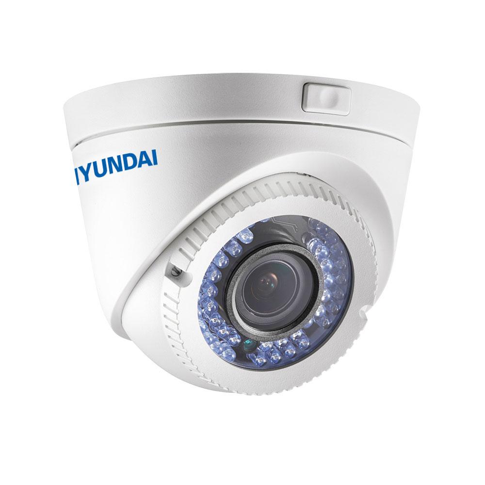 HYU-512 | Dôme fixe 4 en 1 série PRO avec éclairage Smart IR de 40 m d'extérieur