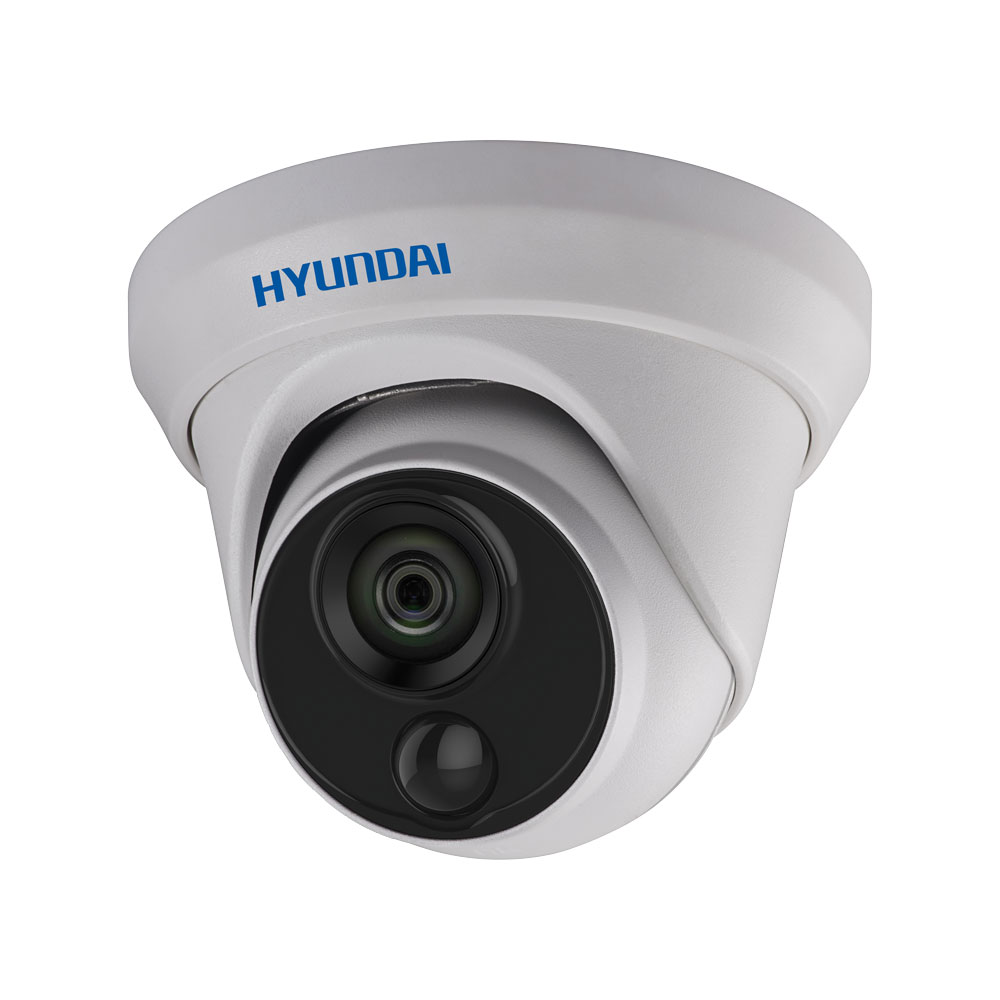 HYU-566 | HD-TVI dome PIR series with Smart IR of 20 m and motion detection by active PIR, for outdoors