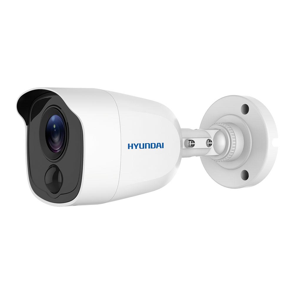 HYU-567   Cámara bullet HD-TVI serie PIR con Smart IR de 20 m y detección de movimiento por PIR activo, para exterior