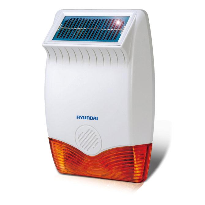 HYU-70 | Sirena solar vía radio de exterior para sistema Smart4Home