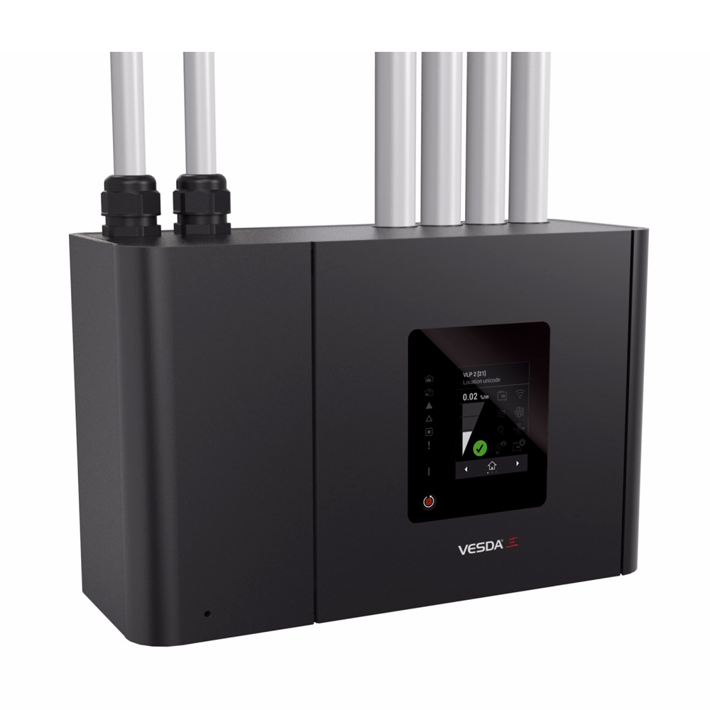 NOTIFIER-285 | Suction system VESDA-E VEP 1 channel, 4 pipes 560M with front and LEDS.