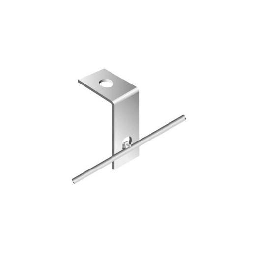 NOTIFIER-337 | SENSOR-FIX galvanized steel bracket for sensor cable assembly SensorLine / SensorTube brand Sensa