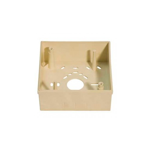 NOTIFIER-340   Light cream plastic box for surface mounting of the IST200E.