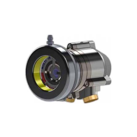 NOTIFIER-380 | Accesorio diseñado para proteger al detector de llama mediante un escudo de aire comprimido para evitar la acumulación de suciedad en la ventana del detector en entornos sucios