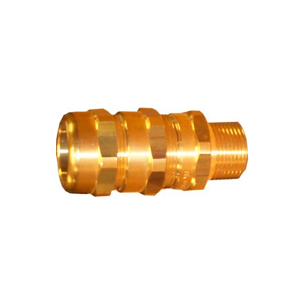 NOTIFIER-382 | Metal cable gland for reinforced cable