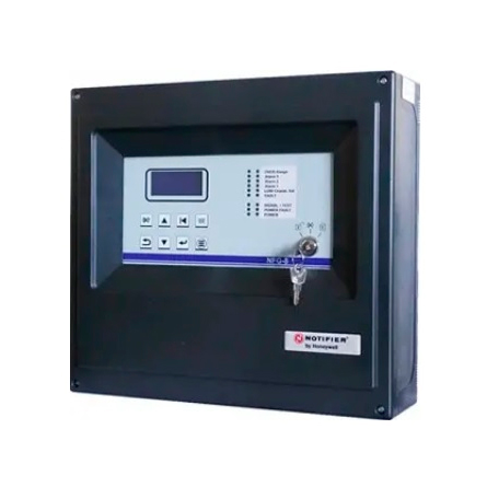 NOTIFIER-396 | Microprocessed plant for the detection of flammable, toxic and oxygen materials in small systems