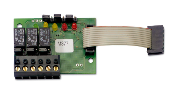 NOTIFIER-523 | 3-relay card for smart3 GC and smart3nc detectors