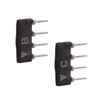 OPTEX-148 | Pack de 100 módulos de resistencia de final de línea para detectores OPTEX