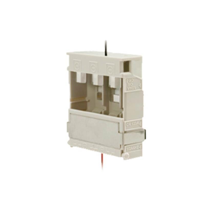 OPTEX-42 | Caja portapilas para los detectores OPTEX-18 (VXI-R), OPTEX-19 (VXI-RAM), OPTEX-20 (VXI-RDAM-X5), OPTEX-114 (VXS-RAM), OPTEX-115 (VXS-RDAM-X5), OPTEX-118 (BXS-R) y OPTEX-119 (BXS-RAM).