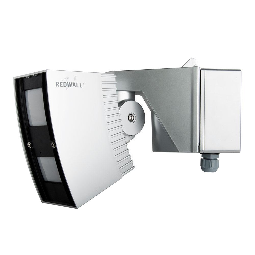 OPTEX-73 | Detector PIR cortina 30 x 20m serie Redwall. Funciones antivandalismo cómo antienmascaramiento y anti-rotación. Alimentación PoE.