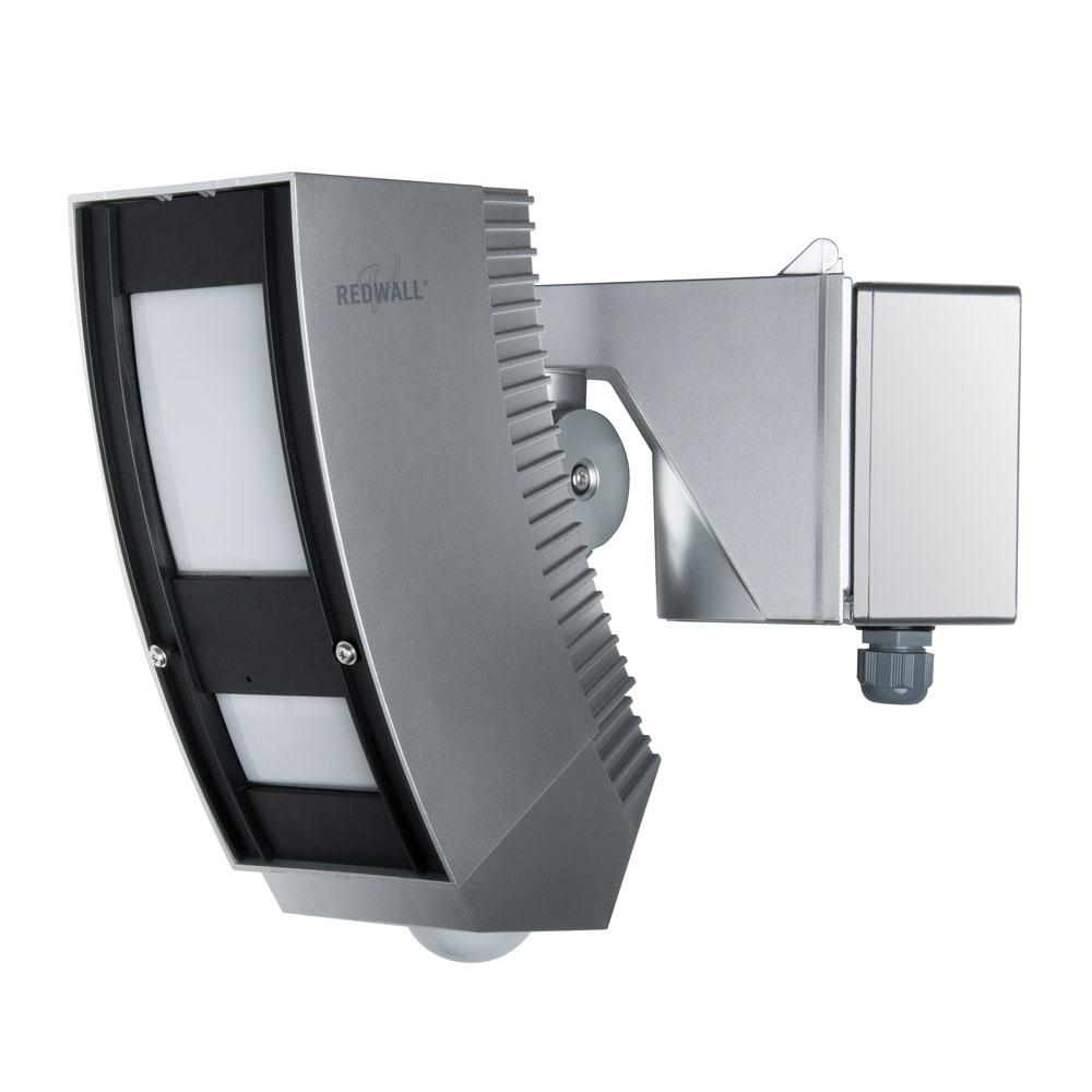 OPTEX-83 | Detector PIR exterior serie Redwall SIP-IP 100 x 3 metros con zona inferior independiente de 6 x 9 metros. Funciones antivandalismo cómo antienmascaramiento y anti-rotación. Alimentación PoE.