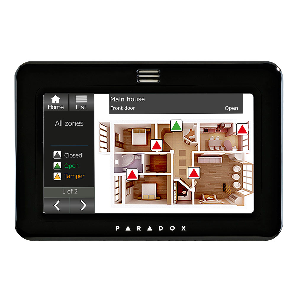 PAR-129L | Grade 3 touchscreen keyboard with integrated temperature & humidity sensors and blueprint license included
