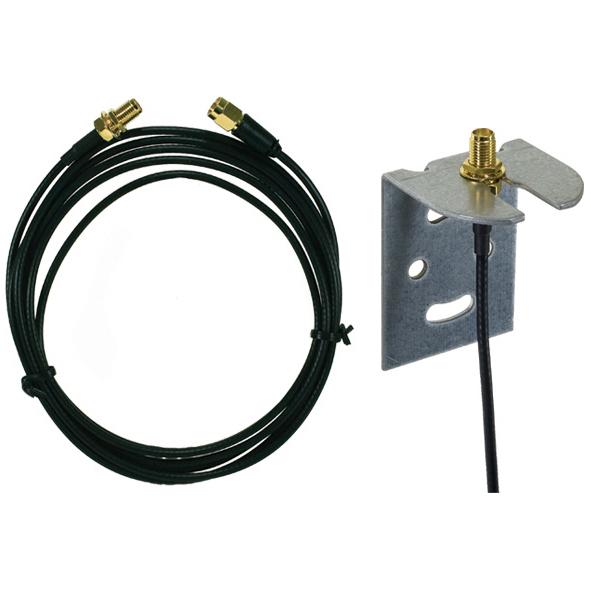 PAR-170   Cable de 4 metros de longitud para extender la ubicación de la antena PAR-130 (no incluida) en los GPRS modelos: PAR-25 (PCS250), PAR-142 (PCS250-G03), PAR-160 (PCS250-G01), PAR-158 (GPRS14), PAR-188N (PCS260E) y PAR-189 (PCS265)