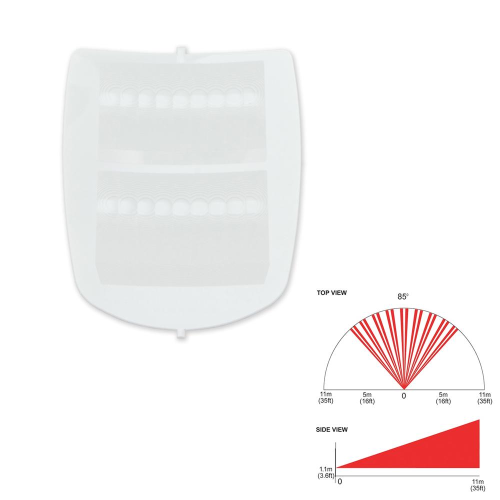 PAR-207 | Lente de cortina horizontal L1 para PAR-20 (PMD85) y PAR-27 (DG85)