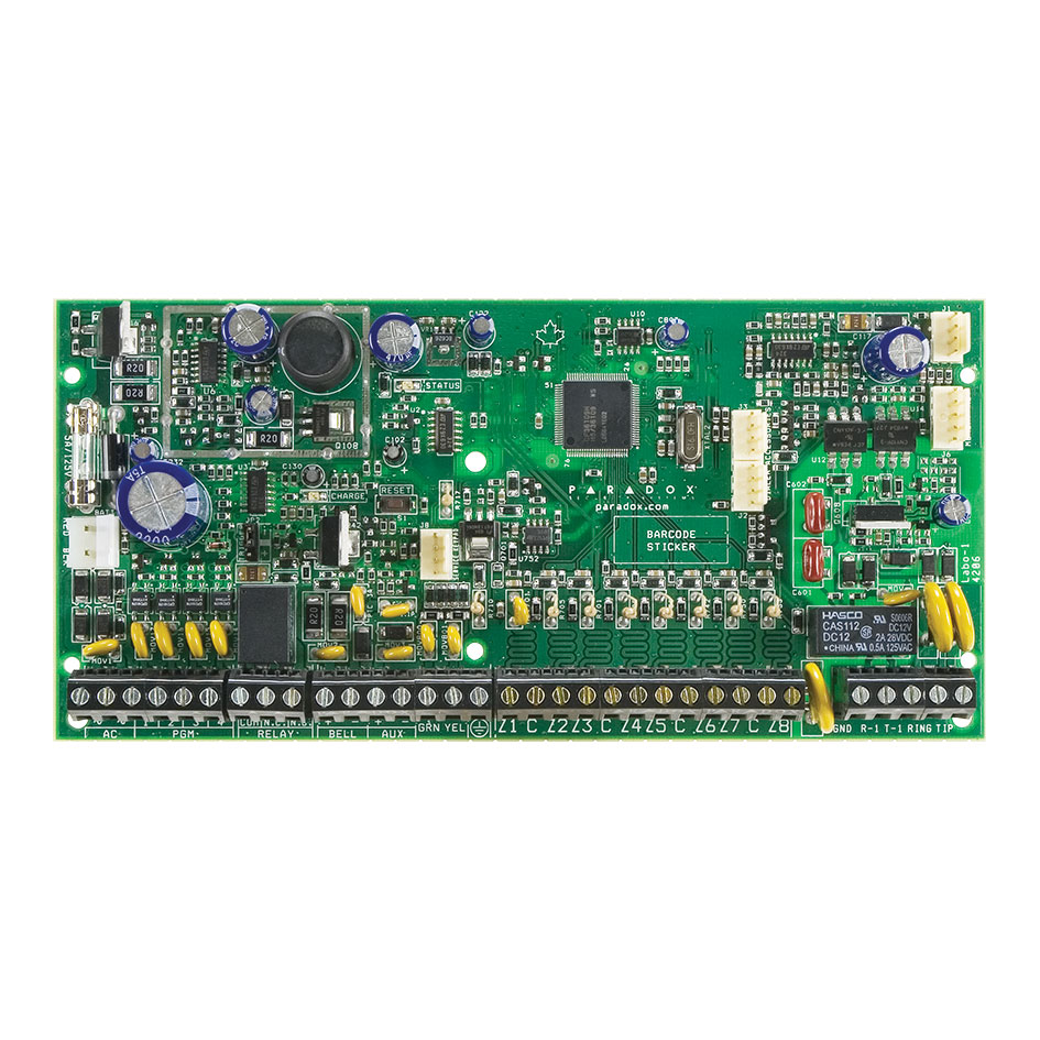PAR-265 | Circuito de central Spectra Plus™ 8 zonas