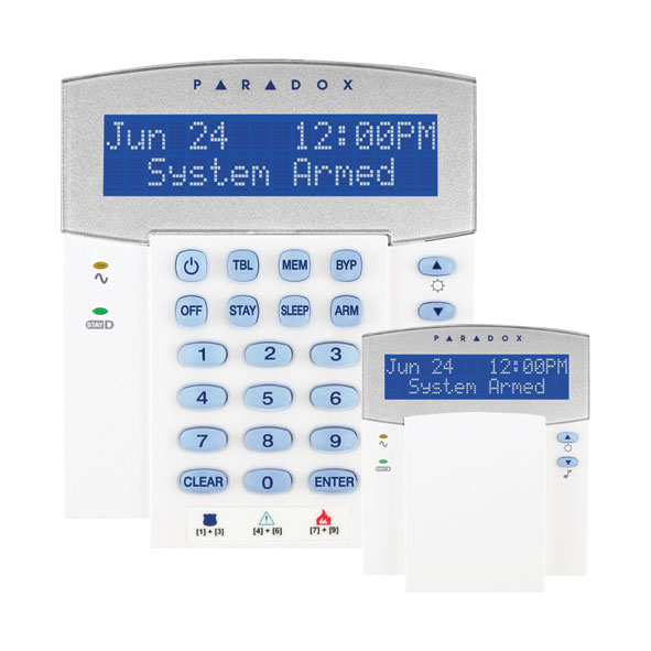 PAR-65 | LCD keypad with radio receiver