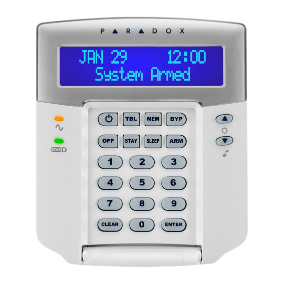 PAR-6N | LCD blue screen keyboard