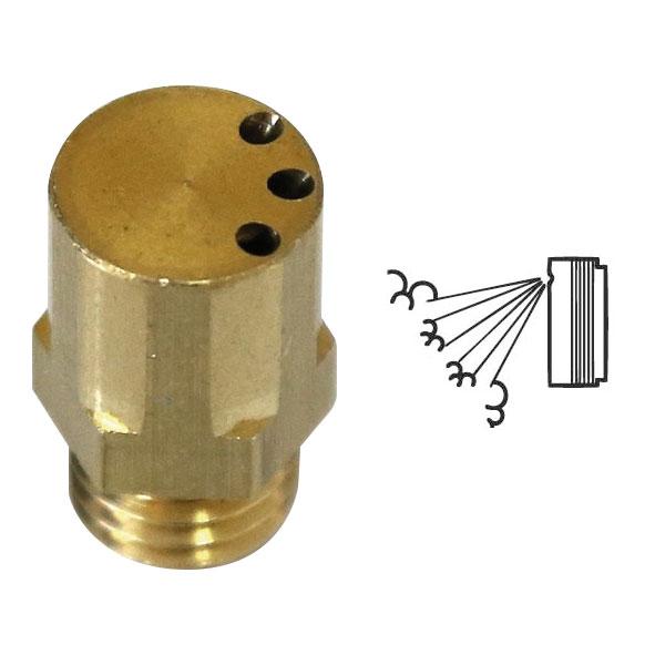 PROT-18 | Boquilla de 3 salidas con inclinación de 30° para los cañones de niebla PROT-9 PROTECT Qumulus™, PROT-10 PROTECT 600i™ y PROT-11 PROTECT 1100i™