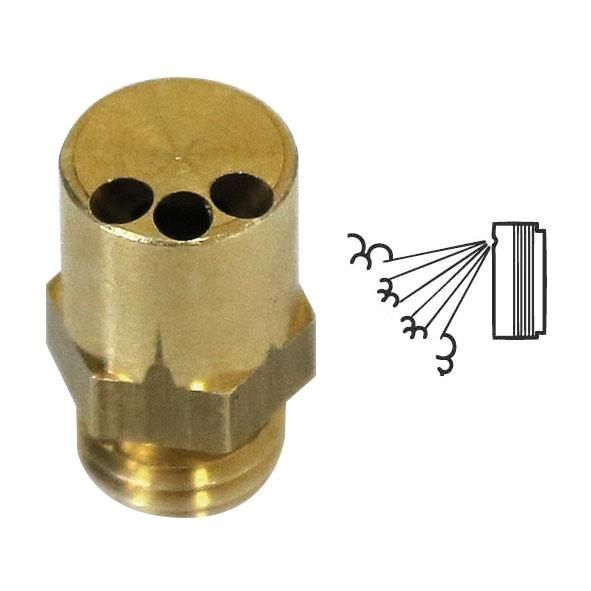 PROT-21 | Boquilla de 3 salidas con inclinación de 30° para el cañón de niebla PROT-12 PROTECT 2200i™