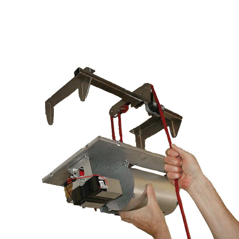 PROT-6 | Strumento ausiliare di elevazione per installazioni in soffitti