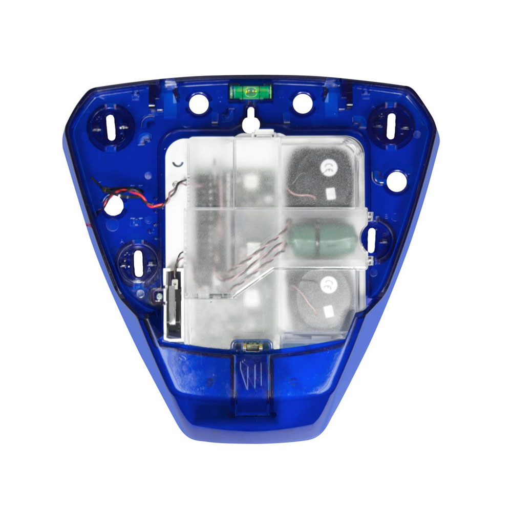 PYRO-67 | Base de sirène en couleur bleu Pyronix avec module PCB et batterie
