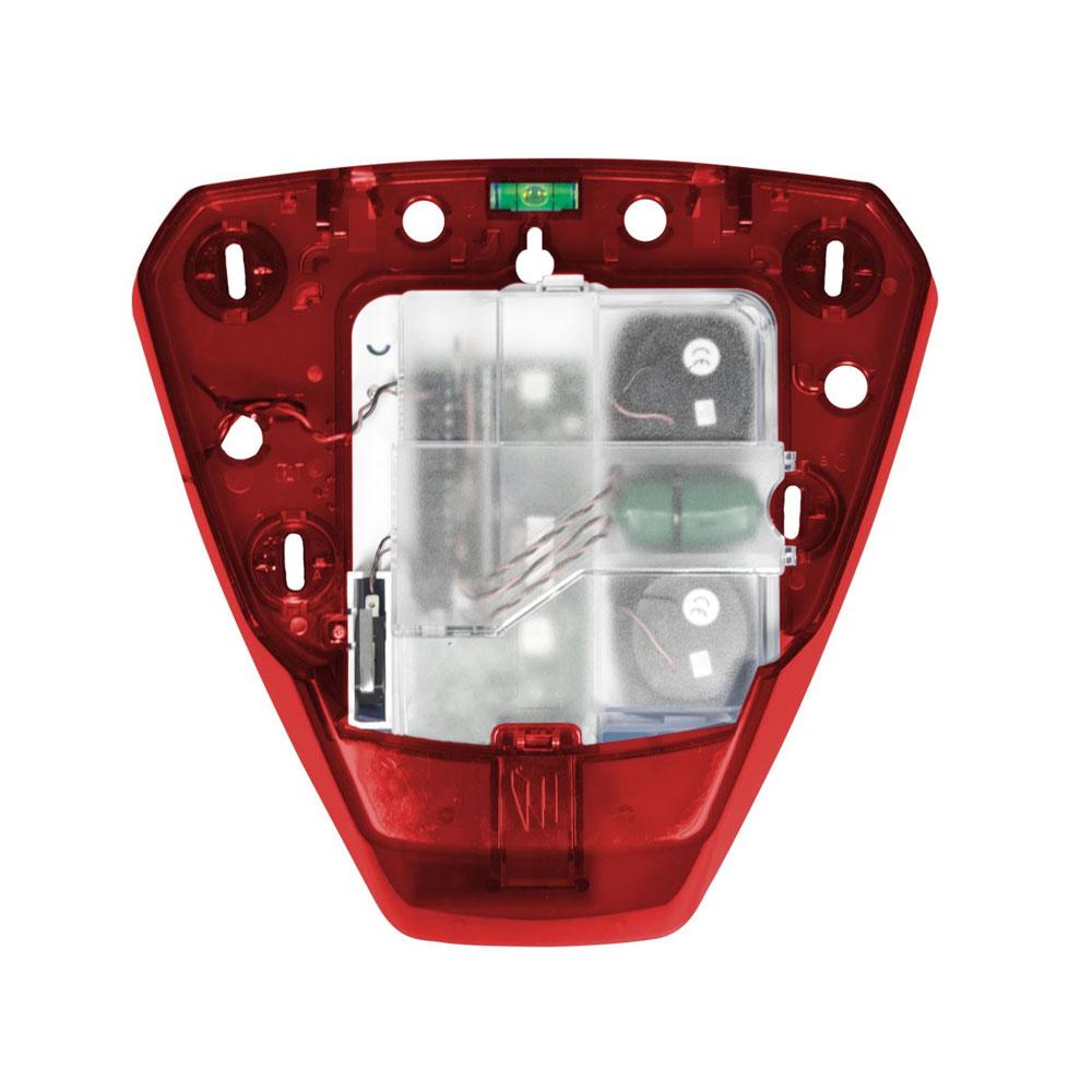 PYRO-68 | Base roja de sirena Pyronix con módulo PCB y batería