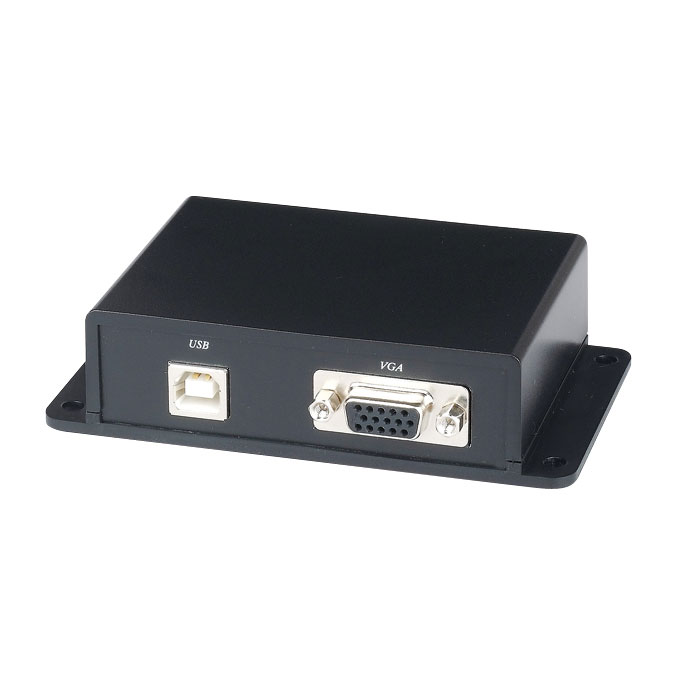 SAM-1181N | Extender (transmitter and receiver) for twisted pair signal VGA, keyboard and mouse