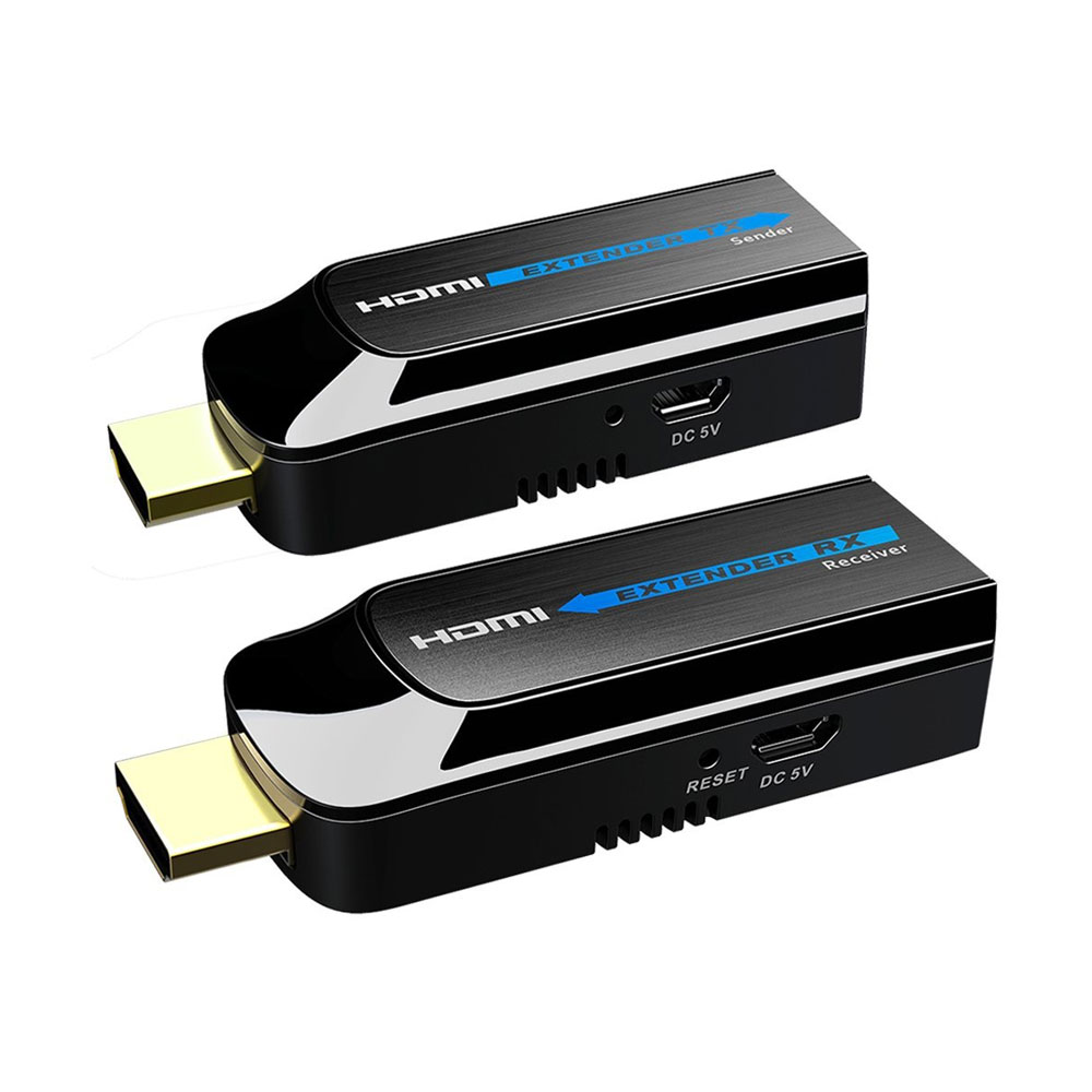 SAM-2886N | Mini extensor HDMI de hasta 50 metros sobre CAT6/6a/7.