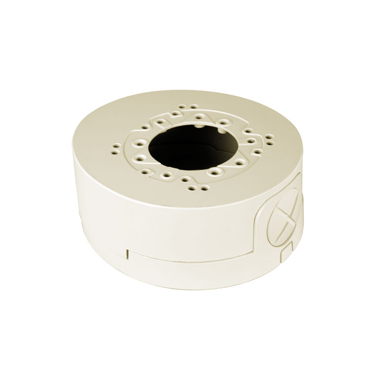 SAM-4360 | Mount and junction box  base for cameras and fixed lens dome, small size