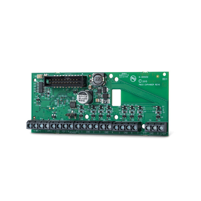 VISONIC-141 | IoXpander-8 wired expansion module with 8 programmable wired zone inputs or PGM outputs for PowerMaster-33 control panel