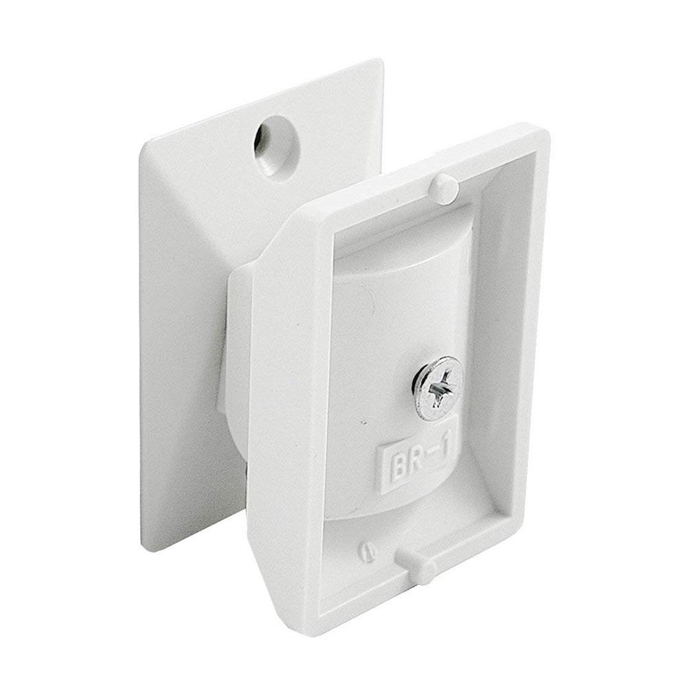 VISONIC-153 | Soporte universal de montaje en pared adaptable a la mayoría de los detectores PIR fabricados por Visonic.