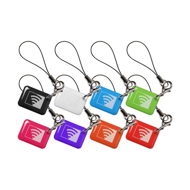 VISONIC-55 | Pack of 8 multicolored Chicklets proximity tags