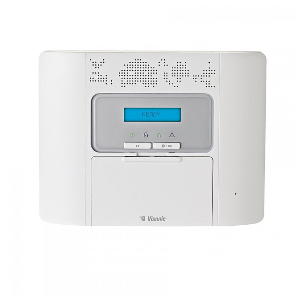 VISONIC-138 | Panneau de commande radio compact de 64 zones PowerMaster-30