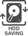 Ahorro de HDD