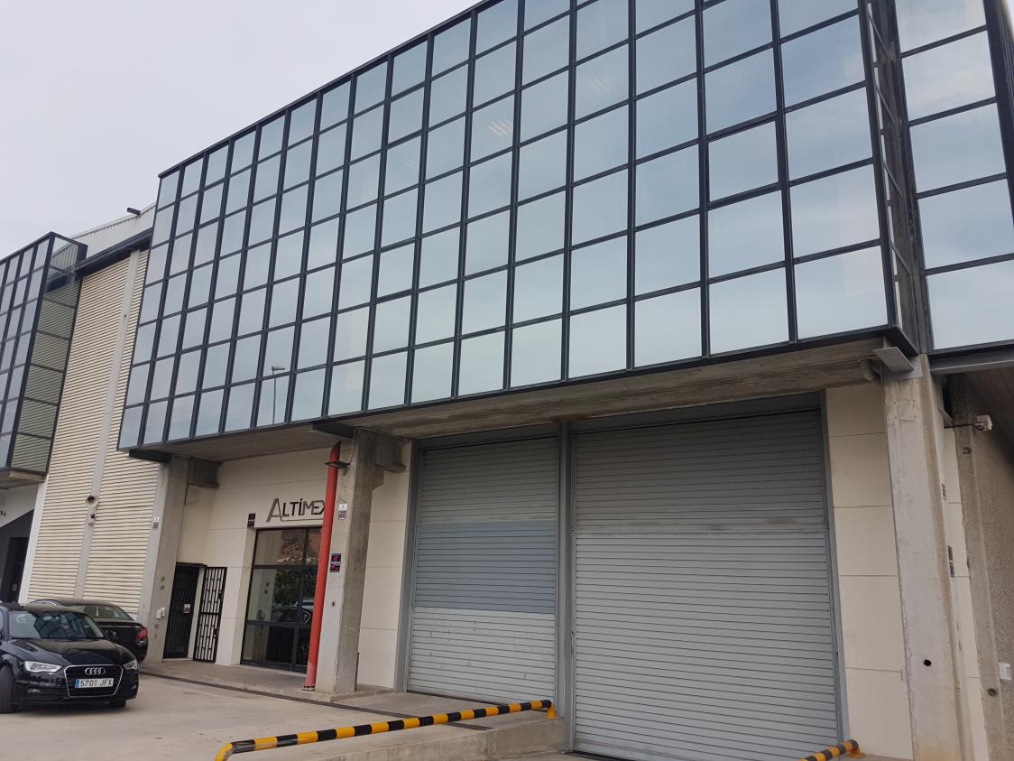 Soluciones de DAHUA, PARADOX y VAELSYS para el almacén de aduanas de Barcelona de ALTIMEX