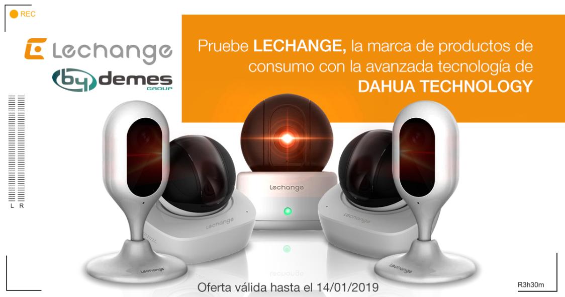 Pruebe LECHANGE, la marca de productos de consumo con la avanzada tecnología de DAHUA TECHNOLOGY