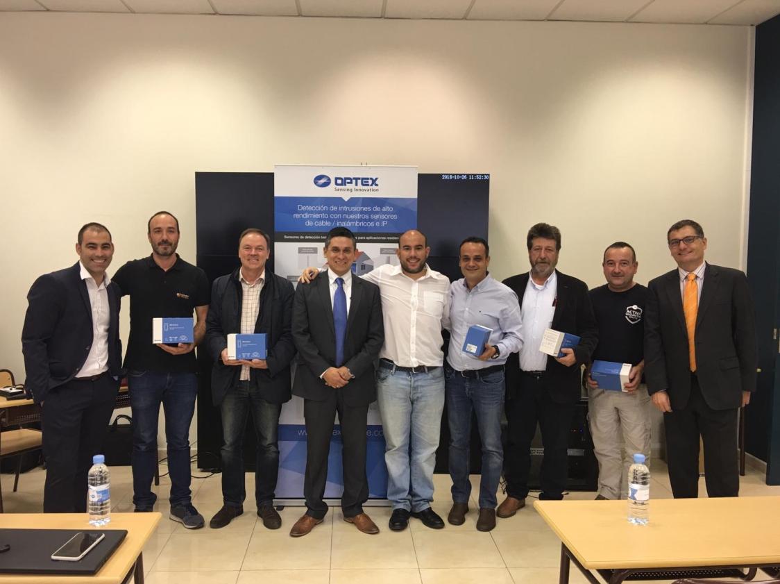 By Demes Group, OPTEX y VAELSYS se unen para presentar la solución definitiva para instalaciones que requieran de un índice cero de falsas alarmas