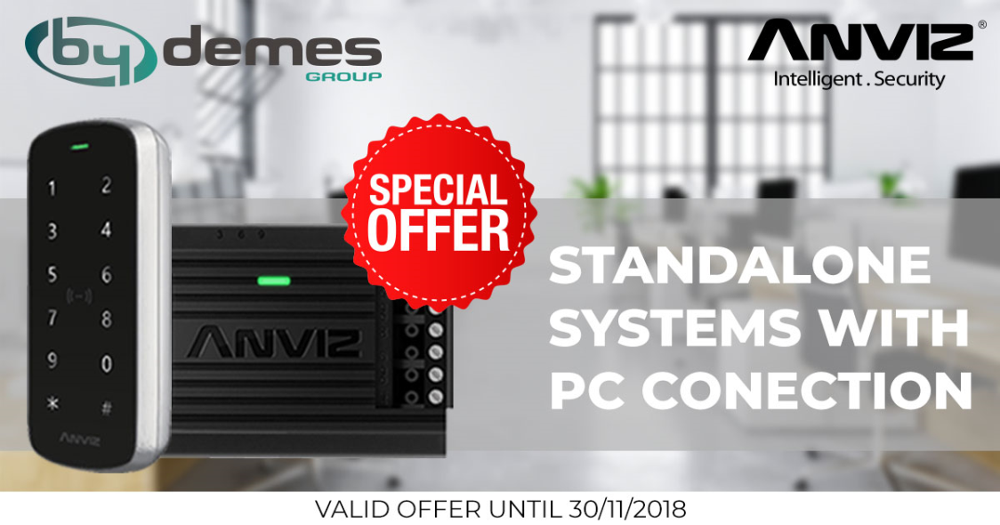 ANVIZ standalone systems with PC connection