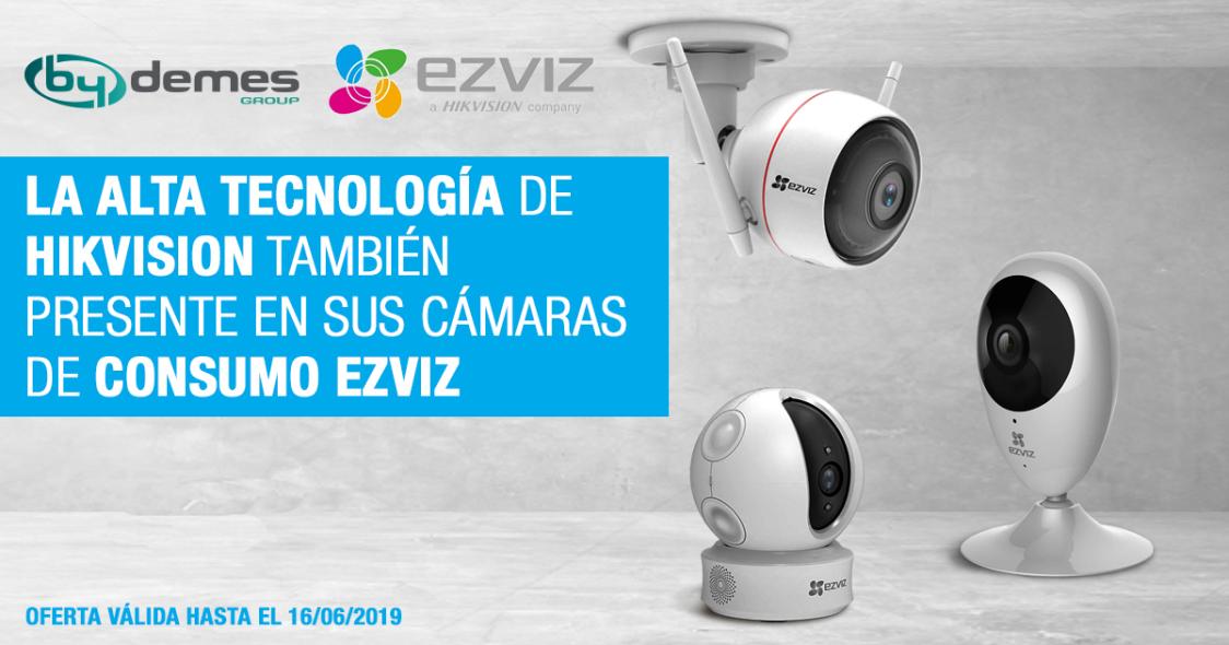 La alta tecnología de Hikvision también presente en sus cámaras de consumo EZVIZ
