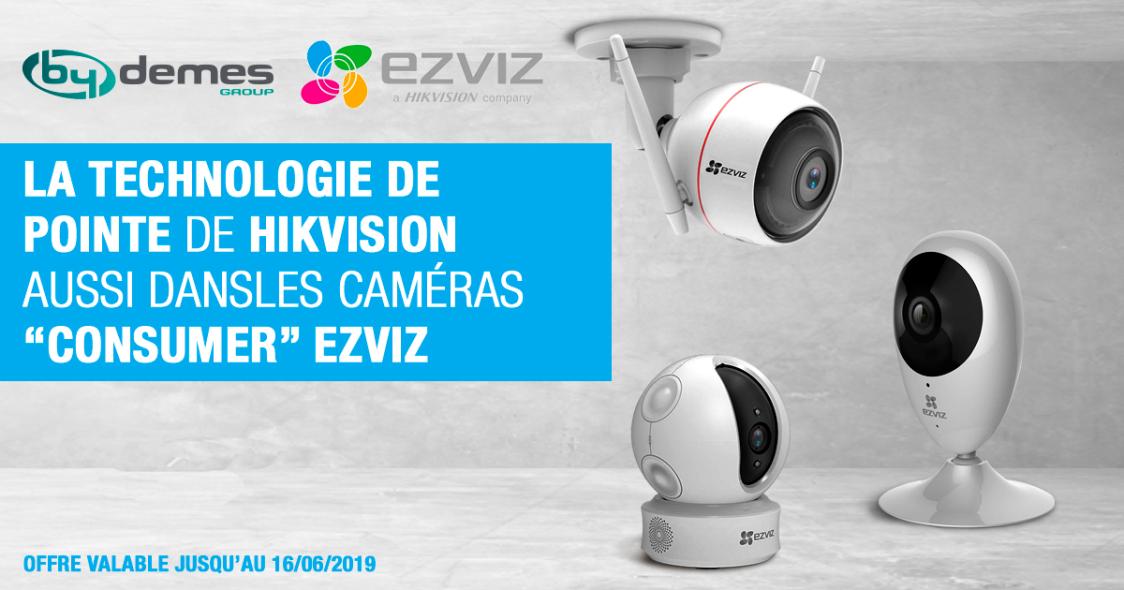 La technologie de pointe de Hikvision aussi dans les caméras