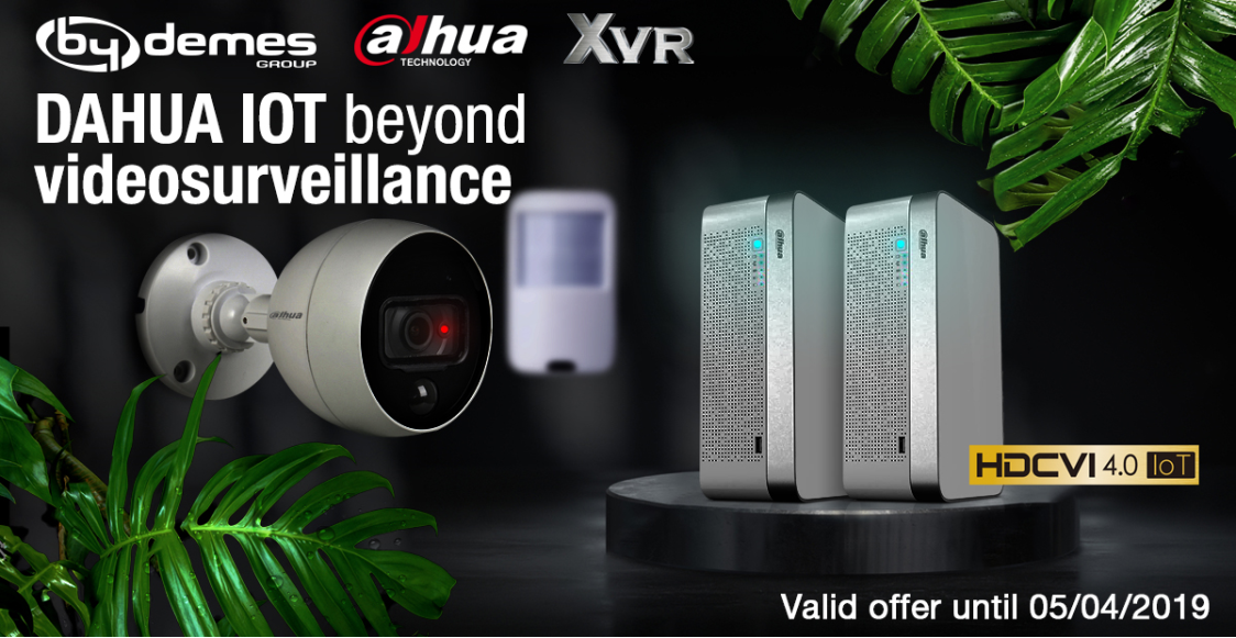 DAHUA IoT: beyond videosurveillance