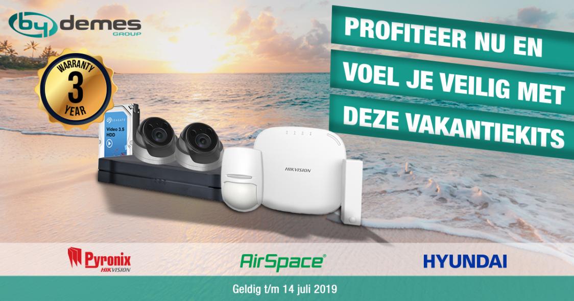 Heerlijk op vakantie? Profiteer nu en voel je veilig met deze vakantiekits voor u geselecteerd door By Demes Benelux