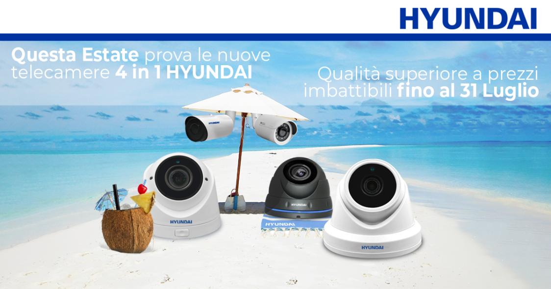 Prova le nuove camere HYUNDAI 4 in 1 a un prezzo imbattibile!