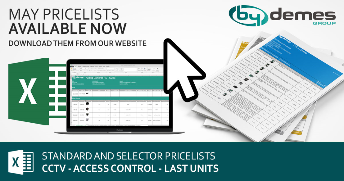 New standard and selector May pricelists available now!