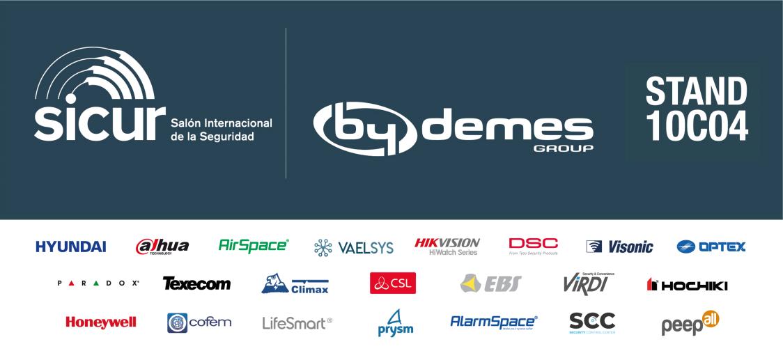 By Demes Group regresa a SICUR con sus nuevas soluciones, pero manteniendo el objetivo de liderazgo