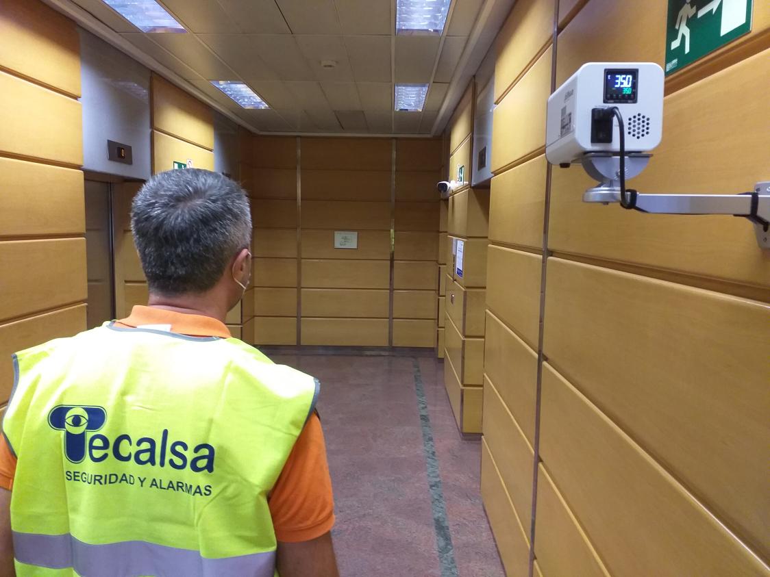 Ibercaja ya dispone de tecnología de Dahua para la detección de fiebre en sus centros, gracias a Tecalsa y By Demes Group