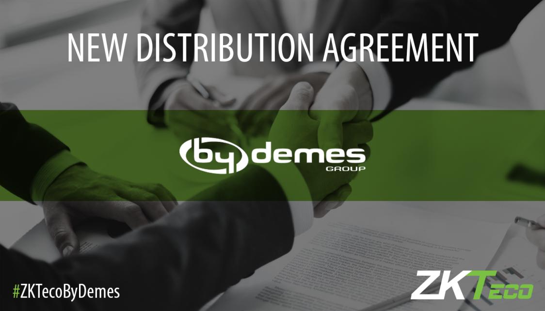 By Demes Group, distributeur ZKTeco Gold Partner en Espagne
